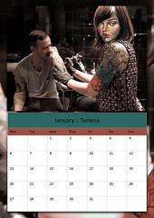 Symbiosis Calendar 2014 (Dr Case) Tags: calendar 2014 symbiosis turkesa artistswithcharacter