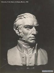Edmondo Prati Busto di Artigas Marmo 1930