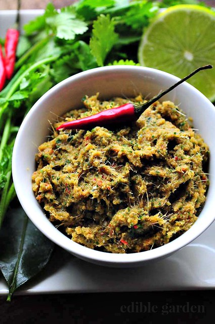 vegetarian thai green curry paste-thai green chilli paste-3