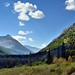 A Look through a Valley in Waterton Lakes National Park