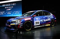 SUBARU WRX STi NBR CHALLENGE (Audi quattro2) Tags: auto blue japan tokyo racing boxer salon impreza jdm