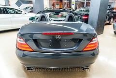 Mercedes SLK 200 BE - 7G - Gris Tenorita