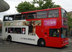 NXWM 4605 BX54DDO Transbus Trident Alexander ALX400 (chrisbell50000) Tags: travel west bus station branded double route deck national express alexander brand branding 529 midlands wolverhampton trident decker 4605 transbus alx400 nxwm bx54ddo chrisbellphotocom