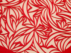 A heart of shapes (Rachael Ashe) Tags: red art love paper valentine cutpaper papercraft papercutting
