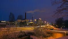 Pakkasaamua turussa (-20c)  - A cold winter morning in Turku-Finland  (-20c) (rkp11) Tags: morning suomi finland landscape frost turku freezing gel nightphotos 20c tammikuu matin 2014 bo aamu  coldwinterday pakkanen maisemakuvia  turkuuniversityhospital  lumia1020 kuviaturusta photosfromturku hmeentieturku tavastlandsvgenturku turunyliopistollinensairaala