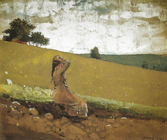 Winslow Homer - The Green Hill, 1878 at National Gallery of Art Washington DC (mbell1975) Tags: green art museum painting smithsonian dc washington districtofcolumbia gallery museu unitedstates hill fine arts musée musee m national american realist homer museo muzeum nga realism winslow the beaux beauxarts müze 1878 museumuseum