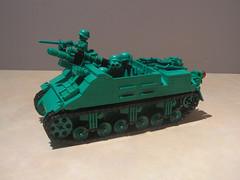 Lego Army Men M7B1 Priest (Shockblast1) Tags: tank lego wwii ww2 priest sherman worldwar2 armymen howitzer brickarms legotank brickmania m7b1