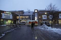 "Katutaidevaunu @ Malmintori (Helsinki street art office Supafly) Tags: streetart color art graffiti helsinki colorful spray shoppingcenter hel graffitiart ostoskeskus ""street art"" katutaide supafly nuorisoasiainkeskus katutaidevaunu graffititrailer"