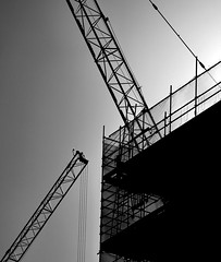 Reaching out (Grooover) Tags: new suffolk riverside cranes build ipswich grooover