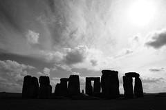 (Doodles N' Dabbles) Tags: blackandwhite history monument stone landmark stonehenge