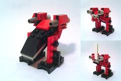MFZ-30187 - Raven (alternate model) (dark_syntax) Tags: lego mecha mech moc microscale mechaton mf0 mobileframezero