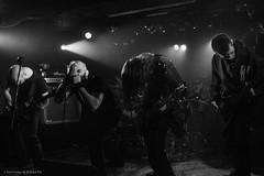 L'hiver en deuil (Where the gloom becomes sound) Tags: bw en music black metal dark photography death la photo concert guitar hiver nb nathalie satan zone luik ersatz lige lhiver 600d deuil khansa dotnat