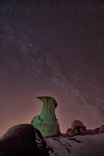 Hoodoos Milky Way (repost)