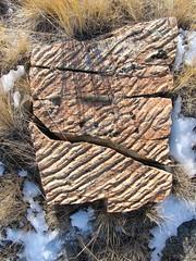 A rock in Montana.  One of many. (montanatom1950) Tags: outdoors scenery montana rocks outdoor hiking scenic helena helenamontana outdoorphotography