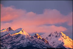 Pasayten Sunrise (Ed.Stockard) Tags: mountains color clouds sunrise washington wa methow northcascades methowvalley