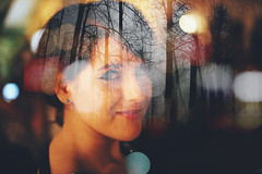 Untitled (GaryAmberths) Tags: portrait people forest canon lights exposure experimental double flares 6d