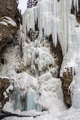 Upper Falls (DCZwick) Tags: winter snow canada ice water creek rockies waterfall alberta rockymountains banffnationalpark icefall canadianrockies banffpark johnstonscanyon pentaxk3