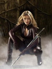The Mord'Sith Cara from Legend of the Seeker (sabrebiade) Tags: hot sexy beautiful leather cara sword theswordoftruth mordsith legendoftheseeker tabrettbethell