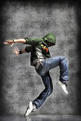 (Nekane Gonzalez) Tags: boy music motion male guy sport night pose studio disco person stand dance clothing cool jumping freestyle break adult exercise background performance young style dancer move jeans teen beat teenager casual balance hiphop hip rap breakdance breakdancing rapper aerobics adolescence