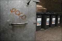 Poco (Alex Ellison) Tags: urban graffiti boobs bin graff poco northwestlondon poko metaletchtag