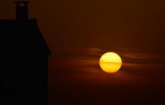 Coucher de soleil (NovelAstre19) Tags: france soleil nikon coucher passion feu boule d3200
