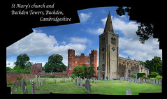 Buckden: 'an unforgettable picture' (Simon_K) Tags: autostitch church churches cambridgeshire eastanglia cambs hunts buckden huntingdonshire