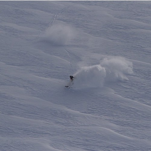 Spot the skier?? POWDER!!! Thanks @maxwellcole and@frasermcdougall for the share!!! #skiwanaka #lovewanaka