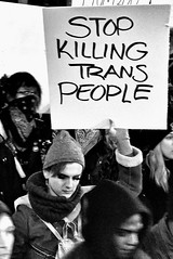 Trans Liberation March (draketoulouse) Tags: chicago loop protest street streetphotography jackson blackandwhite monochrome activist activism lgbtq night