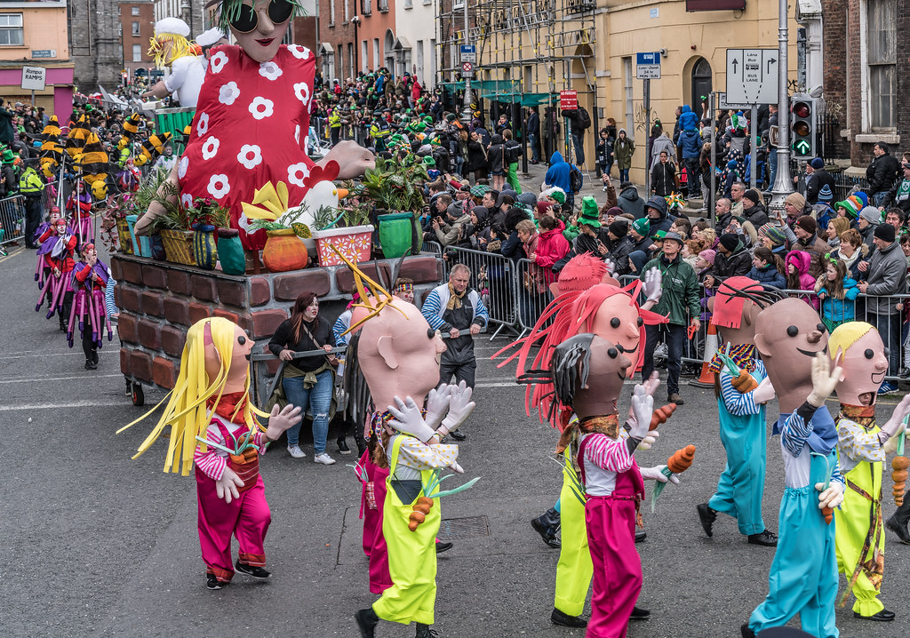 DOWTCHA PUPPETS FROM CORK [DUBLIN PATRICKS DAY PARADE 2017]-125993