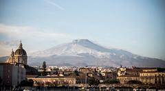 Catania - Etna Vulcano (salvatoregiuga) Tags: catania sicily v volcano enta landascape clouds skyline