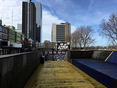 Luchtsingel bridge Rotterdam (Un tocco di zenzero) Tags: rotterdam rooterdamfoodieguide myrotterdam visitholland visitrotterdam