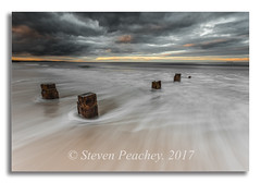Angry Sky (Steven Peachey) Tags: seascape sea sky stormy clouds beach sand hartlepool theheadland hartlepoolheadland steetley canon canon6d ef1740mmf4l lee09gnd tide coast coastline northeastcoast northeastengland lightroom stevenpeachey manfrotto exposure leefilters
