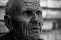 Oldies but Goldies (azadyasamin) Tags: shiraz iran canon azad yasamin 350d black white bw old oldman oldies goldies wrinkle portrait