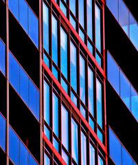 Sharp Living (Book'em) Tags: abstract architecture buildings toronto lines diagonals geometry geometric color colour glass condos hss nikon d800