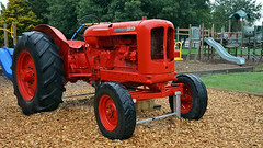 Playground Nuffield (Branxholm) Tags: plough plow harvest farm ranch cattle sheep horse wheat corn oats crawler bulldozer farmall case moline oliver john deere