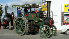 Marshall Traction Engine. (Branxholm) Tags: plough plow harvest farm ranch cattle sheep horse wheat corn oats crawler bulldozer farmall case moline oliver john deere