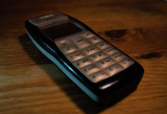 It still works (locusmeus) Tags: 365 nokia 1100 sturdy livesforever unbreakable phone mobile