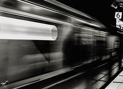The 4.5.6 Train (REA // Photography) Tags: bw blackwhite eastsideline lexingtonavenueline lowermanhattan manhattan metro monochrome nyc newyorkcity publictransportation subway train