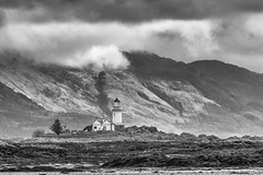 Isleornsay Lighthouse (Highlandscape) Tags: lighthouse em5 landscape outdoor rural hill ecosse isleornsay countryside highland coastline httphighlandscapezenfoliocom glen skye cloud coast marine olympus seashore beauty structure sea rocks highlandscape sleatpeninsula beach isleofskye iainmacdiarmid knoydart building shore island sky boat olympusem5markii scotland armadale mountain