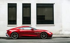 Vanquish Zagato. (Alex Penfold) Tags: aston martin v12 vanquish zagato red supercars supercar super car cars autos alex penfold 2017 london
