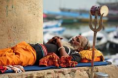 DSA_9237 (Dirk Rosseel) Tags: sadhu holy man varanasi benares india ganges ganga ngc people hindu hinduism