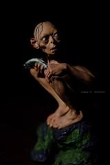 Gollum-1 (pdchusfani) Tags: wetaworkshop collectibles tolkien lotr gollum