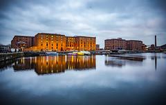 Albert Dock (Daniel Zwierzchowski) Tags: albert dock uk liverpool england water mirror canon 1022mm eos550d eos 550d architecture architektura buildings