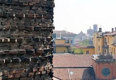 Buongiorno Bologna (angelapace1) Tags: bologna sanpetronio lucidelmattino tetti orologio skyline