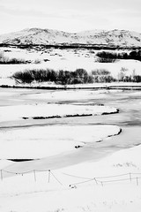 Iceland B&W (lee adcock) Tags: iceland holiday nikon1685 nikond7200 snow thingvellir national park