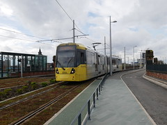 Manchester Metrolink 3008 (Boothby97) Tags: bombardierm5000flexityswift tram manchester manchestermetrolink 750vdcelectric 750vdc ratpdev deansgatecastlefield deansgaterailwaystation 3008 lineb