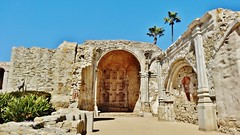 Great Stone church ruins. (France-♥) Tags: mission sanjuancapistrano californie ruines