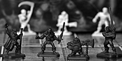 The quest (Allan Saw) Tags: game action dwarf dungeon elf hero figures mage barbarian