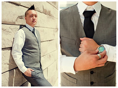 Dress Up with the Boys (alicebmyphotographer) Tags: fashion tattoo ties suits watches cityhall dressup sj vests suspenders gq suittie ootd