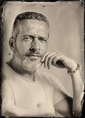 Fernando (Maciek Lesniak) Tags: portrait man male classic blackwhite ambrotype wetplate largeformat 13x18 wetplatecollodion